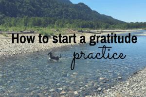 How to Start a Gratitude Practice