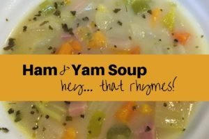 Read more about the article Ham, Yam & Coconut Soup