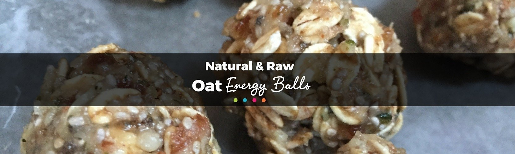 Natural, Raw Oat Energy Balls