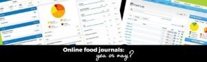 Online food calculators: yea or nay?