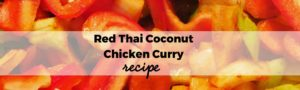 Red Thai Coconut Chicken Curry
