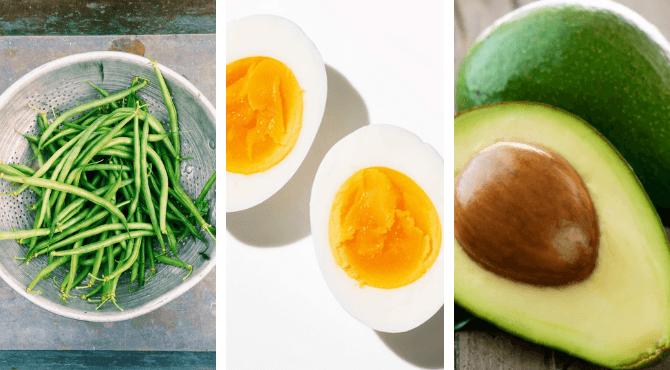 Beans, Avocado + Egg Bowl